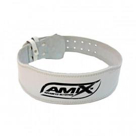 Cinturon Cuero Color Blanco