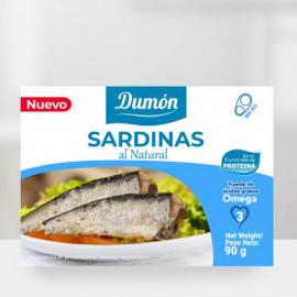 Sardinas al Natural 90 grms