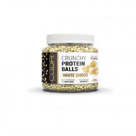 Crunchy Protein Balls 250 Gr Chocolate Blanco
