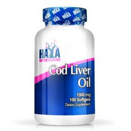 Cod Liver Oil 1000 mg  - 100 Softgels