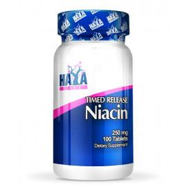 Niacin -Time Release- 250 mg - 100 Tabs