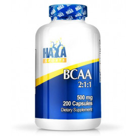 Sports Bcaa 2 1 1 500 mg - 200 Caps