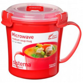 Microwave 656ml Medium Soup Mug