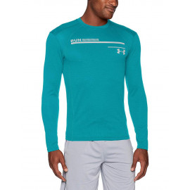 Camiseta manga larga con estampado UA Microthre