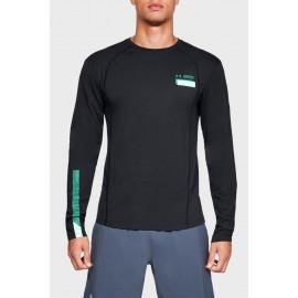 Camiseta manga larga con gráfico UA Swyft hombre