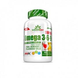 GREENDAY® Super Omega 3-6-9 90 Caps